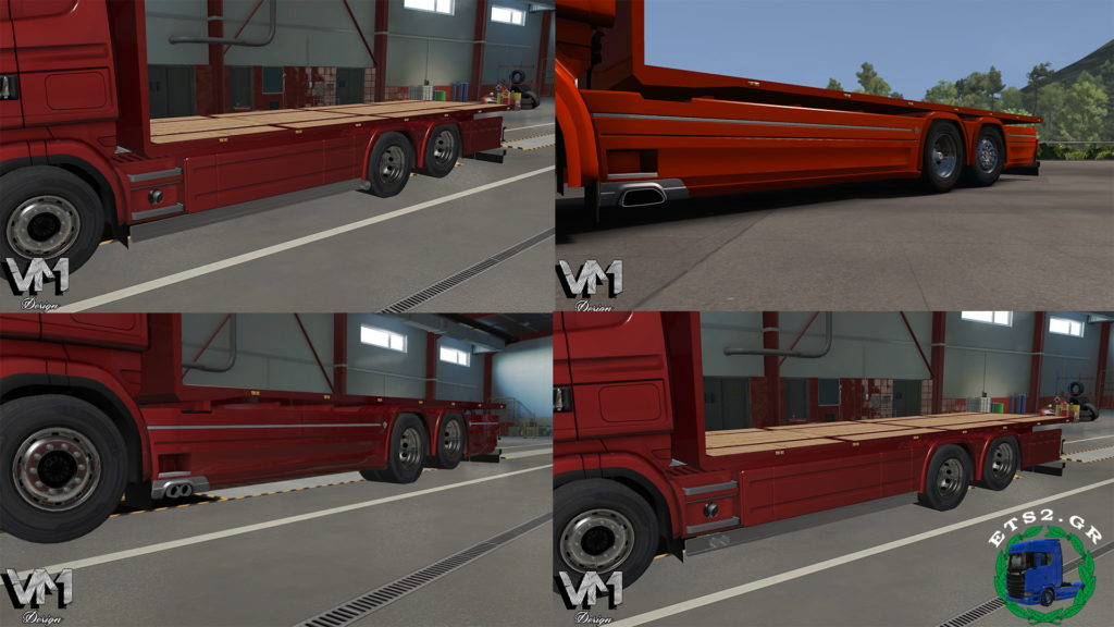 Sideskirt Pack for Tandem addon for RJL by Kast (by V. Mourtos Design)