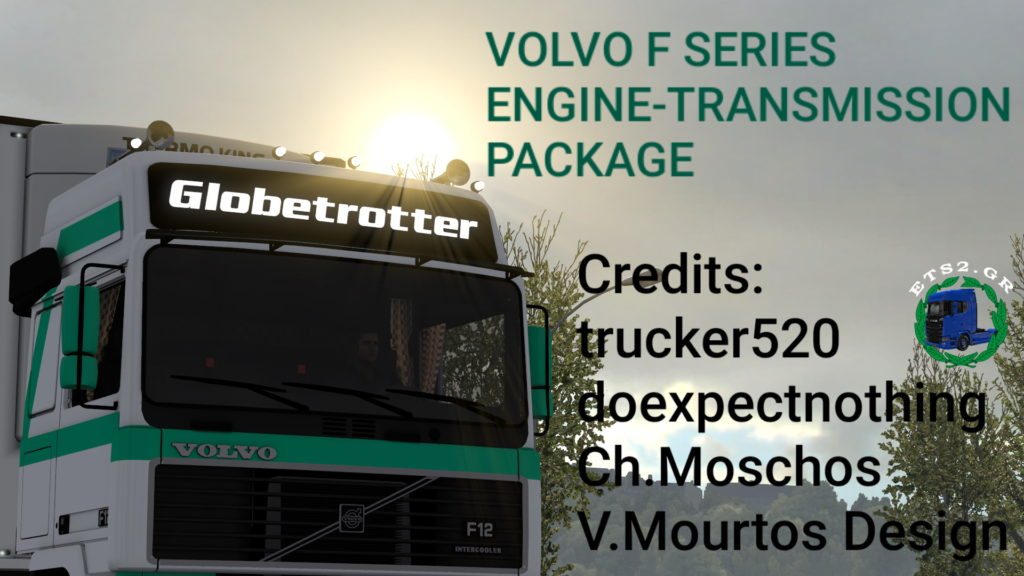 Volvo F series engine-transmission pack