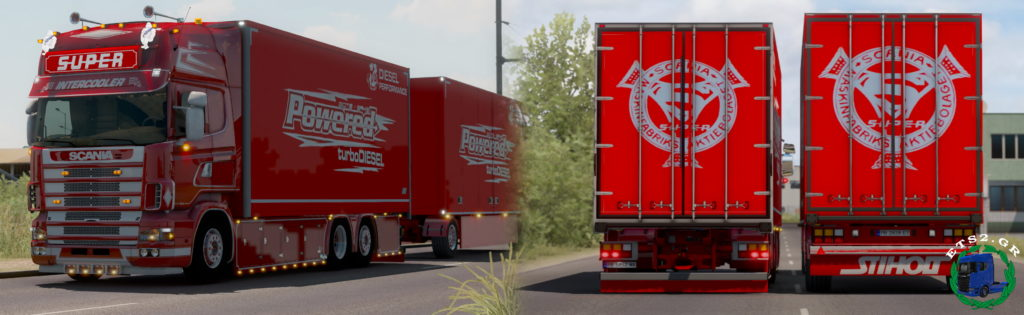 Scania 144L Zikopoulos Skin Combo v2 [1.37 – 1.38+]