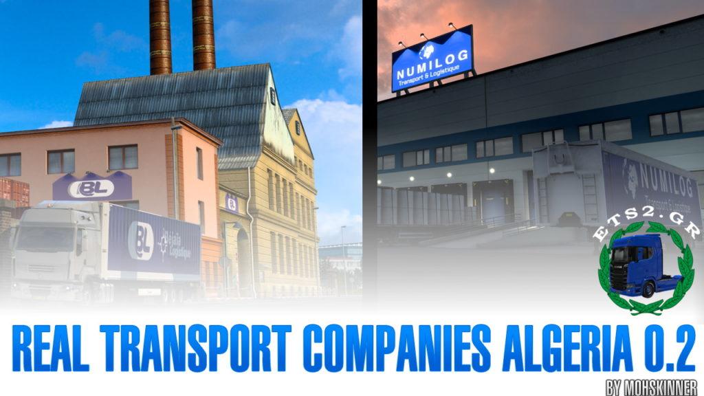 MohSkinner – Real Transport Companies Algeria 0.2 – ETS2 1.40