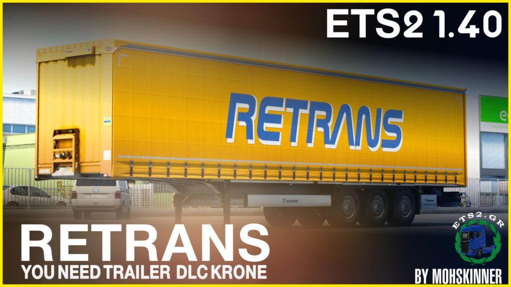 MohSkinner – Trailer Krone Profiliner [ReTrans] – ETS2 1.40