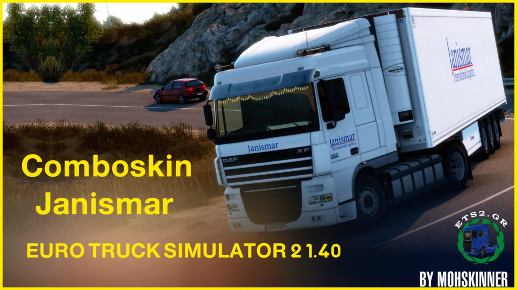 MohSkinner – [ComboSkin JANISMAR International] – ETS2 1.40